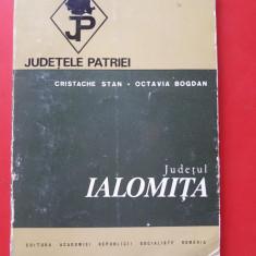 JUDETELE PATRIEI IALOMITA × CU HARTA