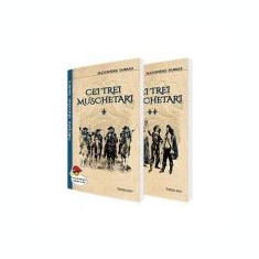 Cei trei muschetari, 2 volume - Alexandre Dumas