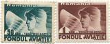 Trimiteri postale Fondul aviatiei, 1936 - valori NEOBLITERATE, Aviatie, Nestampilat