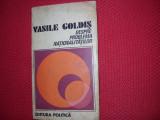 DESPRE  PROBLEMA  NATIONALITATILOR  -  VASILE  GOLDIS  *