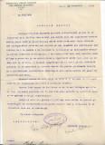 Act Sindicatul presei romane din Ardeal si Banat 1930 semnat Ion Clopotel