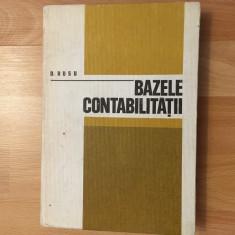 Bazele contabilității/ autor D. Rusu/1980