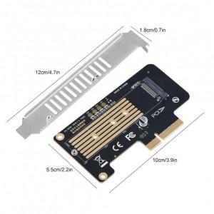Adaptor SSD M.2 NGFF NVMe (M-Key) la PCI Express 3.0 X4 X8 X16 pentru PC