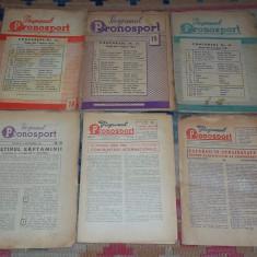 lot 8 reviste Programul Pronosport/ Loto 1954 -1960
