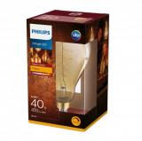 Cumpara ieftin Bec LED Philips 6.5W (40W) classic-giant E27 A160 GOLD DIM, flacără, intensitate luminoasă reglabilă, temperatura culoare 2000K, 470 lumeni, 230V, dur
