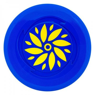 Disc zburator frisbee,23cm, albastru foto