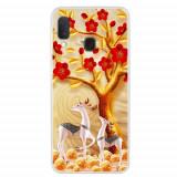 Cumpara ieftin Carcasa Husa Samsung Galaxy A20e model Reindeers, Antisoc + Folie sticla securizata Samsung Galaxy A20e Full 3D Tempered Glass Viceversa