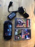 Consola sony psp-1004 + 3 jocuri +incarcator+ card sony