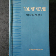 BOLINTINEANU - OPERE ALESE. PROZA volumul 2