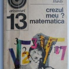 Crezul meu ? Matematica – G. H. Hardy