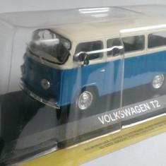 Macheta Volkswagen VW T2 (T2b) + revista DeAgostini Masini de Legenda 75