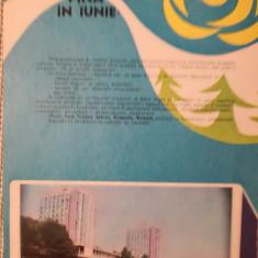 Reclamă Litoralul românesc, 1982, 24 x 16,5 cm, comunism, epoca de aur