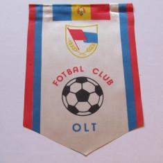 Fanion fotbal - FC OLT (fara snurul de agatat)