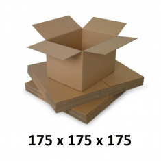 Cutie carton 175x175x175, natur, 3 starturi CO3, 435 g/mp