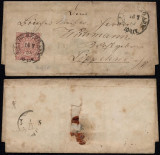Germany North Confederation 1870 Postal History Rare Cover Landsberg DB.369
