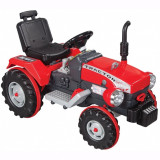 Tractor electric 12V Super Tractor Rosu, Pilsan