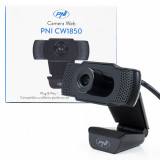 Cumpara ieftin Aproape nou: Camera Web PNI CW1850 Full HD 1080P 2MP, USB, clip-on, microfon stereo