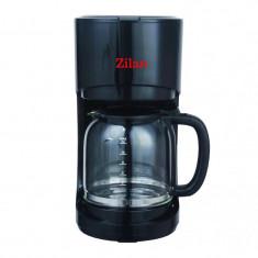 Filtru de cafea Zilan, 900 W, 1.5 l, sistem antipicurare, negru