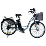 """Bicicleta electrica X-BIKE CITY, 26"""", 10AH, AUTONOMIE 70KM"""