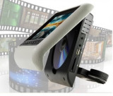 "Monitoare DVD pentru Tetiere auto Avi USB AV IN SD CARD Display 9"" culoare GRI"