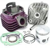 Kit Cilindru Set Motor scuter Malaguti F15 Firefox 80 80cc 2T + CHIULOASA