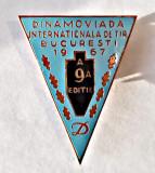 INSIGNA CLUBUL DINAMO DINAMOVIADA INTERNATIONALA DE TIR 1967