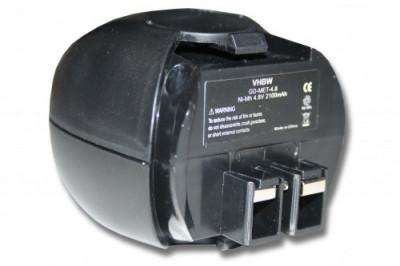 Acumulator pentru metabo powermaxx u.a. 4.8v, ni-mh, 2100mah, 6.27271, 6.27273 foto
