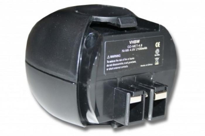 Acumulator pentru metabo powermaxx u.a. 4.8v, ni-mh, 2100mah, 6.27271, 6.27273