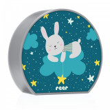 Lampa de veghe MyBabyLight Bunny Reer, 2 x AA, model iepuras