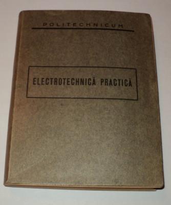Politechnicum, Electrotehnica practica, 1937, politehnicum, Petre Dulfu foto