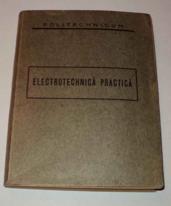 Politechnicum, Electrotehnica practica, 1937, politehnicum, Petre Dulfu