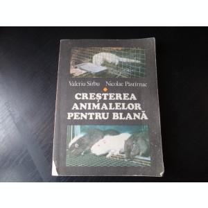 Cresterea animalelor pentru blana – Valeriu Sarbu,Nicolae Pastarnac