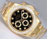 Cumpara ieftin Ceas Dama ROLEX DAYTONA Gold&Diamonds 110grame CALITATE 1 SUPERB (submariner)