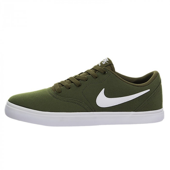 Shoes Nike SB Check Solarsoft Canvas Legion Green/ White