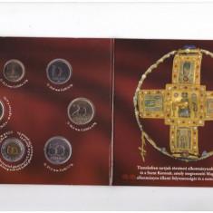 Ungaria 2012 - Set monetarie UNC in folder