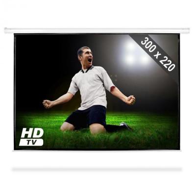 FrontStage Ecran de proiecție de tip Roll-ul HDTV 300x220cm 4:3 foto