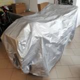 Husa protectie tricicleta electrica, impermeabila, cu elastic, argintiu