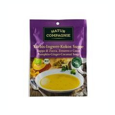 Supa Bio de Dovleac Ghimbir si Cocos Natur Compagnie 40gr Cod: NC4536