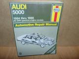MANUAL REPARATII HAYNES  AUDI 5000  1984-1988