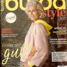 Revista de moda BURDA, nr. 4 din 2019, sigilata, tipare