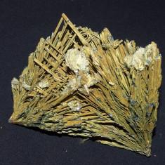 Specimen minerale - STIBINA CU BARITINA SI GOETIT (AT1)