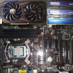 I7 4770, 3x8Gb DDR3, GTX 1060 3GB, ASRock mobo, Asus Xonar