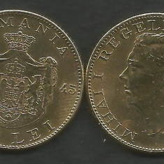 ROMANIA  MIHAI I   500  LEI  1945  [03]   a UNC  ,  livrare in cartonas