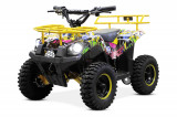 ATV electric NITRO ECO Torino Cross 800W 36V Galben