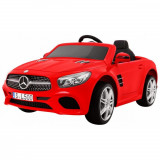 Masinuta electrica Mercedes Benz SL500 cu scaun de piele Red