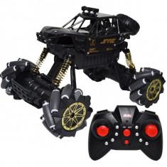 Masinuta Jeep cu telecomanda si suspensii, Scara 1:14, acumulator reincarcabil, Drift Rock Crawler