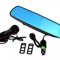 Camera DVR Dual Fata-Spate, tip oglinda retrovizoare, rezolutie Full HD