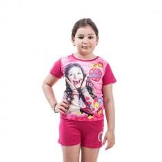 Pijama fete Soy Luna fucsia