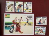 Togo - Timbre sport, jocurile olimpice 1984, nestampilate MNH, Nestampilat