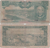1956 ( 15 VIII ) , 50 escudos ( P-88 ) - Angola